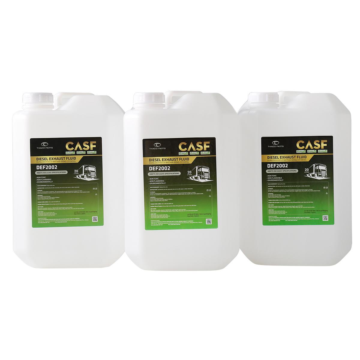 Dung dịch xử lý khí thải động cơ ô tô CASF